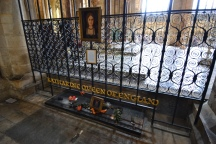 The Tomb of The Queen of England and 1st wife of Henry VIII Catherine of Aragon