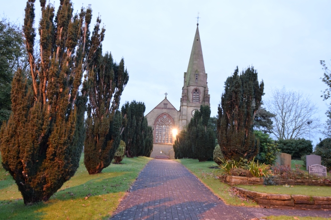 St Lawrence's Church is in Garstang Road, Barton, Preston, Lancashire, England.